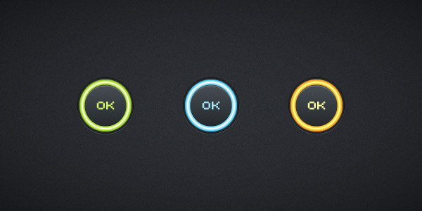 Glowing Buttons